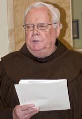 Fr. Don MacDonald has taught at Newman Theological College for more than 40 years.