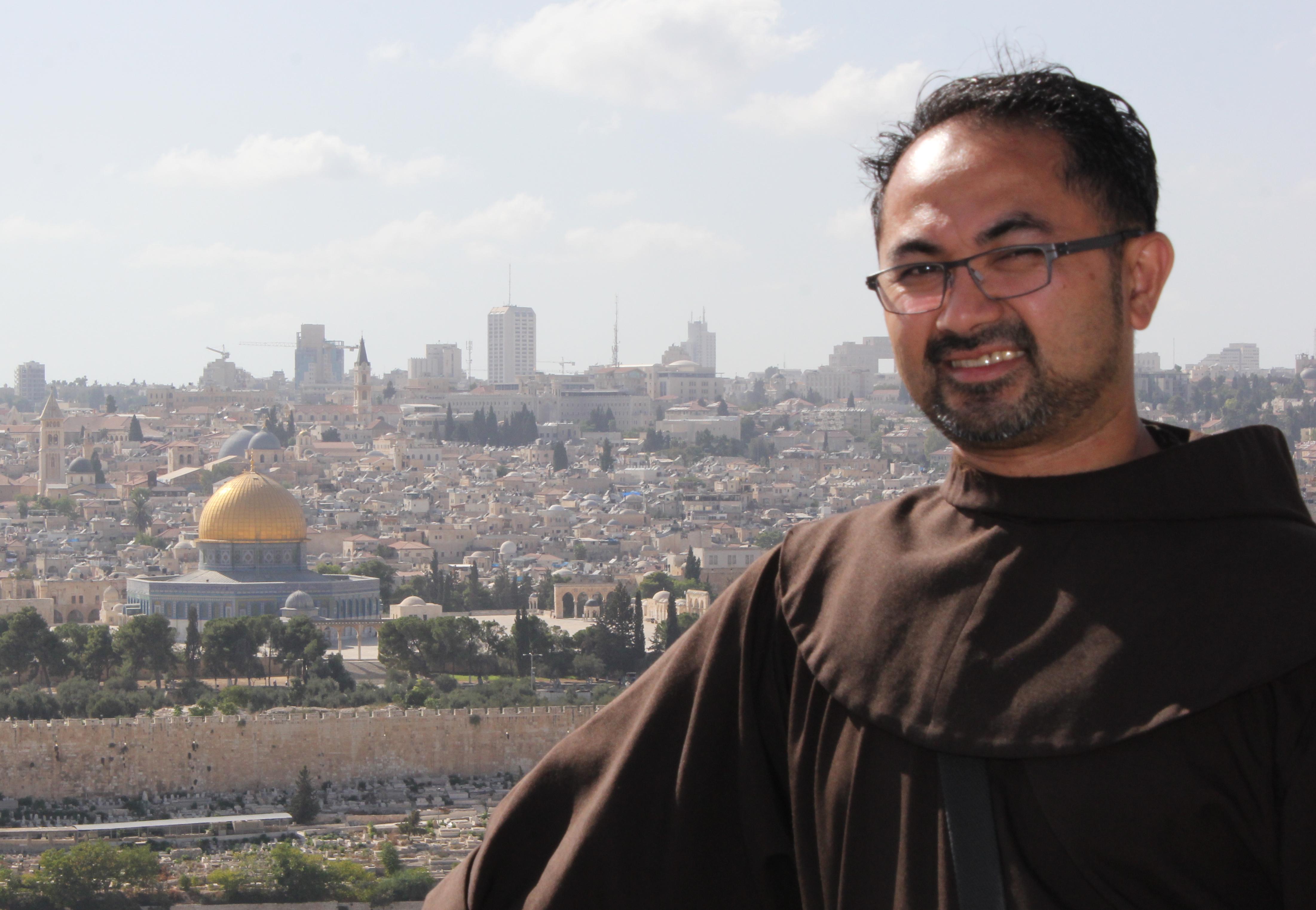 Un franciscain canadien en Terre sainte