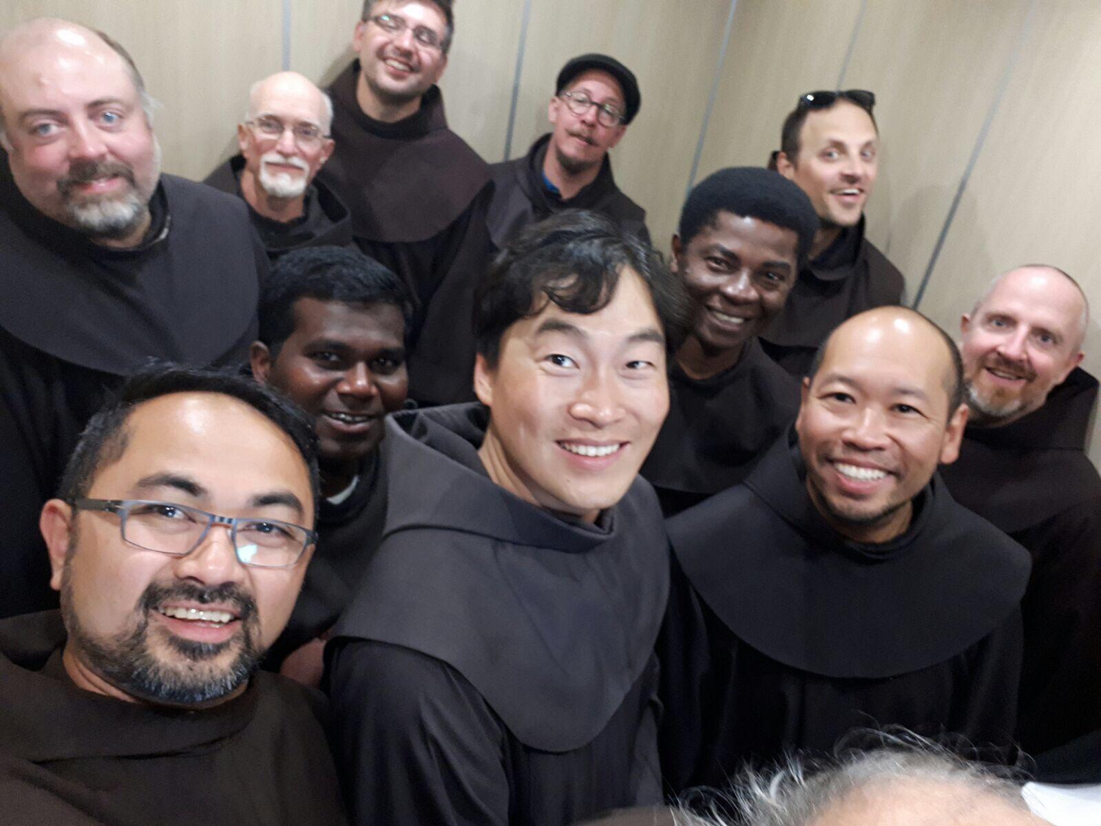 Sur les pas des Récollets: Les franciscains canadiens en pèlerinage