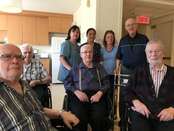 Déménagement de l'infirmerie: un an déjà