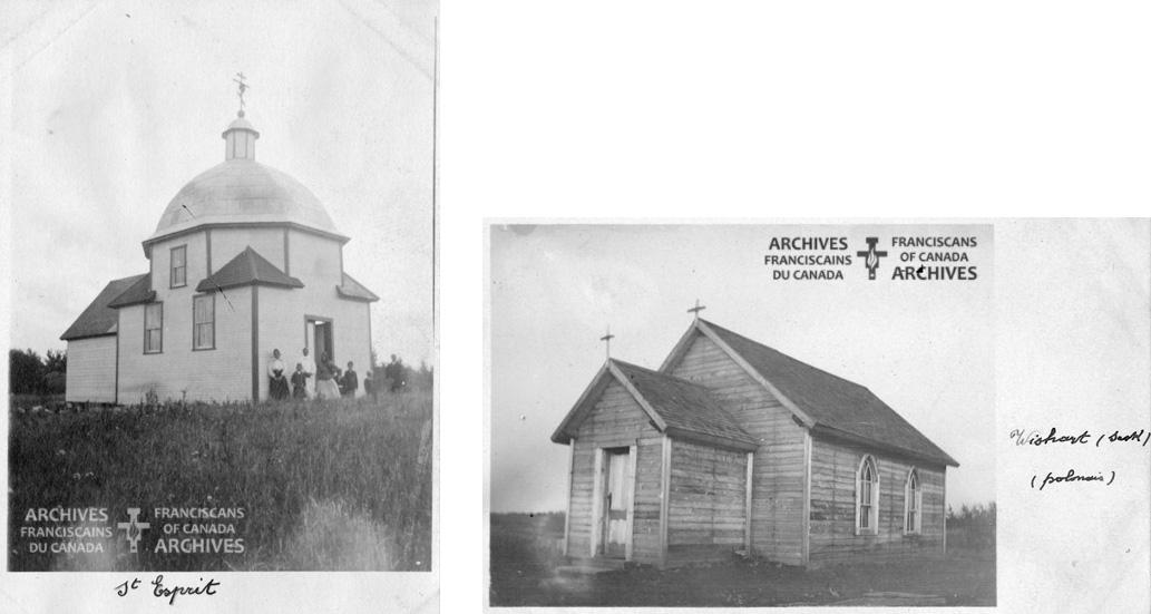 Eglise a Hubbard et Wishart.